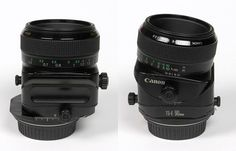 Canon TS-E 90mm f/2.8 - Three tilt-shift lens (special lens)