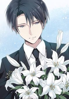 Wow, those are beautiful Levi... *smiles softly at you with a small giggle*