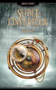 Couverture de Le Secret de l'inventeur, Tome 2 : L'Enigme du Magicien