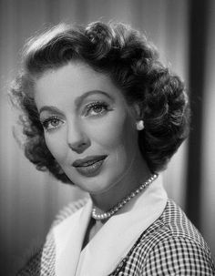In memory of Loretta Young - actress - (01/06/1913 - 08/12/2000) died at age 87. She was born in Utah.