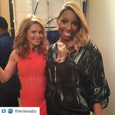 #Repost @theviewabc with @repostapp. ・・・ Things got REAL today with @neneleakes on #TheView! | #CCB #NeneLeakes