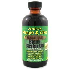 Jamaican Mango and Lime Black Castor Oil Rosemary 4 Ounce
