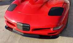 MANFACTURER: C7 CARBON NEW IN THE BOX! PART NUMBER: C7-CCC5-FS-CF [1997-2004] Chevrolet Corvette ZR1 styled Front Splitter   CARBON FIBER C6 ZR1 Style FRONT SPLITTER specifically designed to fit the C