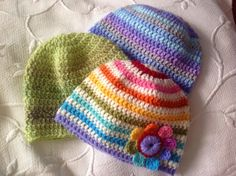 A really simple and quick baby hat pattern today...helping out a friend from Facebook who has...