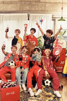 [Picture] BTS X Coca Cola (2018 FIFA World Cup Rusia) [180514]