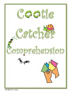 Your students already love them, why Cootie Catchers for each of the seven reading comprehension strategies (including inferring and visualizing)