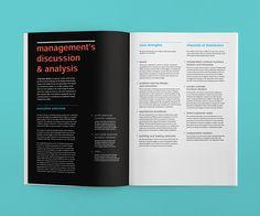 Herman Miller Annual Report on Behance