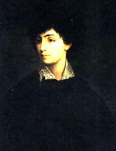 maurice gottglieb-retrato de una mujer joven
