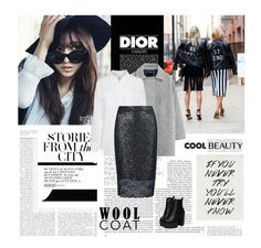 """""""694/480 ~02/01/2016"""" by dunoni ❤ liked on Polyvore featuring Christian Dior, Shin Choi, MANGO and Equipment"""