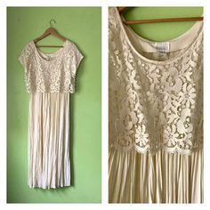 Hey, I found this really awesome Etsy listing at https://www.etsy.com/au/listing/500549074/vintage-1970s-style-wedding-dress-cream