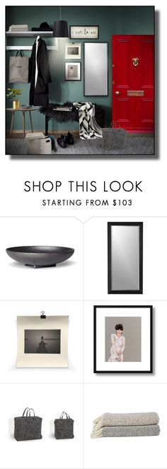 """""""Entryway #2"""" by sally-simpson ❤ liked on Polyvore featuring interior, interiors, interior design, home, home decor, interior decorating, Skeppshult, Crate and Barrel, Väska and Design Within Reach"""