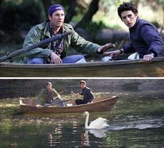 """""""Maybe it's gonna get another swan& come back and make a fight of it!"""" Gilmore Girls <3"""