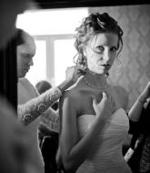 свадебная прическа, прическа на свадьбу, невеста, прическа на русые волосы, сборы невесты, свадебный стилист, стилист