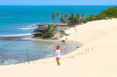 Natal RN o que fazer melhores praias dicas viagem passeios nordeste hotel restaurantes dunas Genipabu