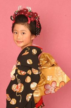 7歳のお子さん向け!現役美容師がおすすめする七五三のヘアスタイルと髪飾りまとめの4枚目の画像