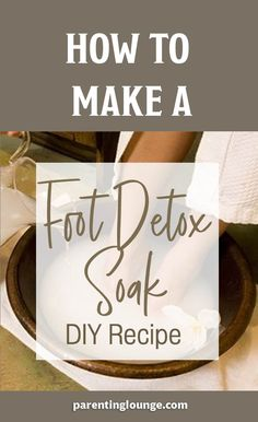 Homemade Foot Detox Soak Recipe - DIY Detox Foot Bath to remove toxins from your body. Homemade Foot Detox Soak Recipe - DIY Detox Foot Bath to remove toxins from your body. Foot Detox Soak, Diy Foot Soak, Detox Foot Baths, Home Foot Soak, Bath Recipes, Detox Recipes, Juice Recipes, Bath Detox, Cleanse Detox