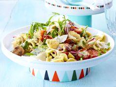 Nudelsalat mit Pesto-Salatcreme