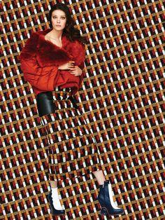 The Look: Diana Moldovan by Enric Galceran for Vogue México September 2015 - Fendi Fall 2015