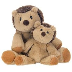 Glenna Jean Liam Hedgehog Plush Toys (Set of 2) - BedBathandBeyond.com