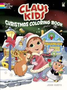 Claus Kids Christmas Coloring Book