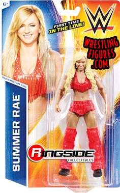 Summer Rae - WWE Series 50   Ringside Collectibles  I have to get her she is my favorite diva ever