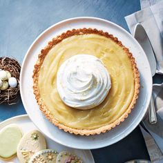 Meyer Lemon Tart | W