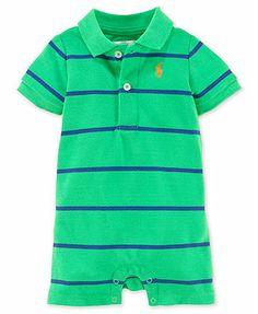 Ralph Lauren Baby Boys' Stripe Romper
