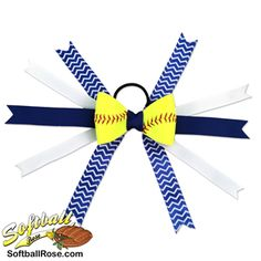 Handmade Softball Hair Bow made from real softball leather Softball Memes, Softball Uniforms, Softball Crafts, Softball Shirts, Volleyball Gifts, Softball Players, Softball Stuff, Volleyball Drills, Volleyball Quotes