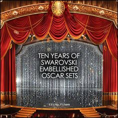 Here's a rundown on the past ten years of Swarovski embellished Oscar sets. Meet the production designers and see tons of photos.