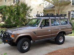 land cruiser fj60 | 1987 Toyota Land Cruiser FJ60 Restored,Winch,Fuel Injection,Zero Rust ...