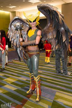 Hawkgirl Injustice Cosplay Amazing CosAwesome cosIT_C2E2_2014-7156 | Flickr - Photo Sharing!