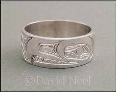 Shop for Northwest Coast Native Indian Silver Eagle Rings Jewelry Ads, Snake Jewelry, Women Jewelry, Diamond Jewelry, Jewellery Shops, Gold Jewelry, Cheap Silver Rings, Mens Silver Rings, White Gold Rings