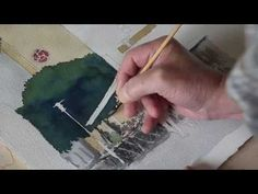 ▶ A Watercolor of Kattesund, Lund - YouTube