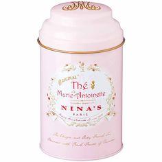 Nina's Paris Original French Marie Antoinette Tea Tin 3.5 oz. (100g)