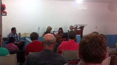 Angela Peyton & Heather McPherson of First Baptist of Waskom performing a special at Fortin.