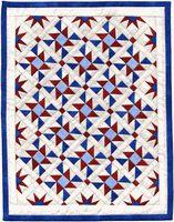 14,923 - Dancing Stars II--An AAQI quilt by Martha Wolfersberger