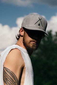 Grey Teepee Hat #hat #headpiece #tee-pee-logo