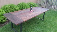 Modern Farmhouse Table by WickedGrain on Etsy