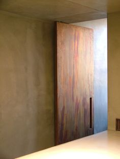 Beautiful door inside Casa SV by Act Romegialli.