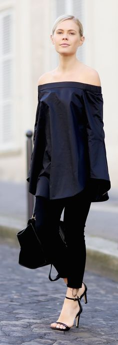 All Black Everything Outfit Idea