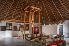 """WANT Les Essentiels twins revamp Matachica resort as """"redefined Belizean beach experience"""" Bamboo Architecture, Hotel Architecture, Belize Resorts, Beachfront Property, Wooden Stairs, Hotel Interiors, Small Places, Building A House, Twins"""