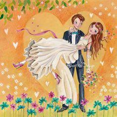 Cartita design - just married