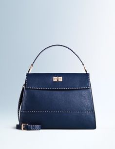 Amanda Bag Bags & Wallets at Boden Navy leather Executive Fashion, Executive Style, Boden Uk, Work Bags, Blue Bags, Navy Bags, Zipper Bags, Navy And Green, Clutch Wallet