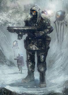 Snow Trooper by TomEdwardsConcepts.deviantart.com on @deviantART