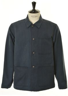 ENGINEERED GARMENTS WKDY Utility Jacket Bedford Cord - Navy £220
