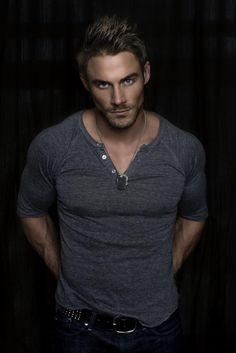 Christian Grey in Fifty Shades of Grey (Jessie Pavelka). Is he dark enough? I think so!