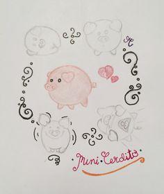 Mini•cerdito ❤️❤️ Pencil sketch