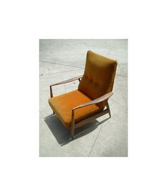 Vintage Danish Mid Century Modern Lounge by therecyclingethic