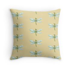 Cute Dragonfly Cushions #decor