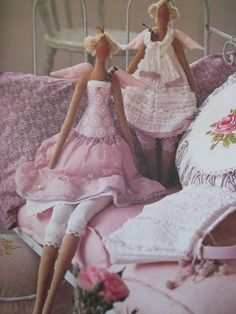 Artesanato e Cia : Boneca Tilda - como fazer passo a passo